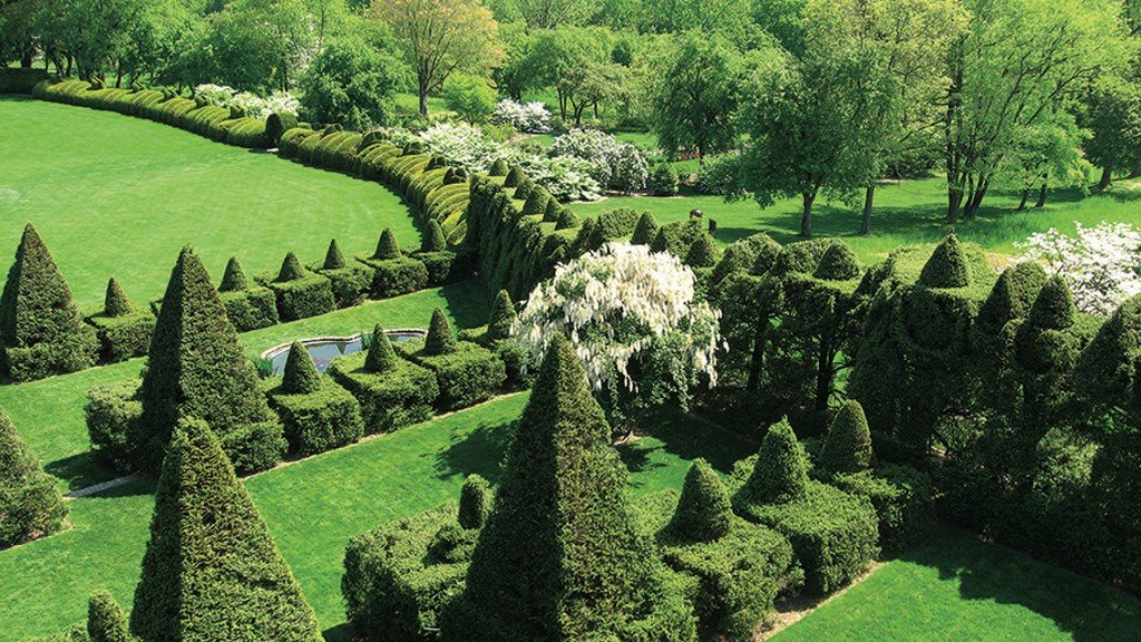 Topiary Terrace at Ladew Gardens