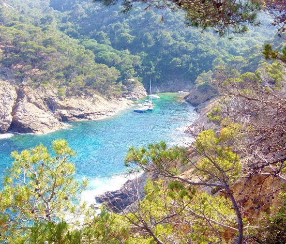 Awesome coves at Costa Brava