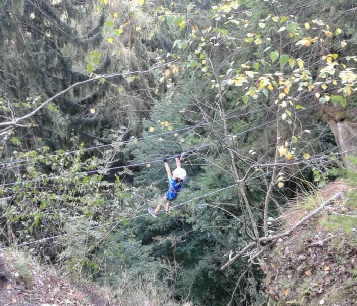 Peterlewand – Climbing wall and via ferrata at lake Ossiach