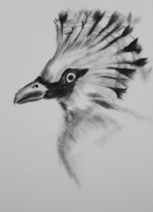 Charcoal on paper. 21x29.7cm Code: JGLJ-2013-0002