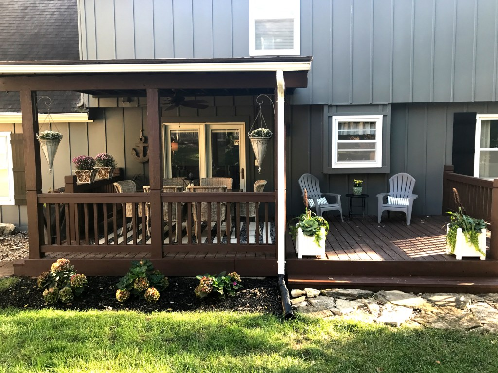 Laila Belles Fall Outdoor Space