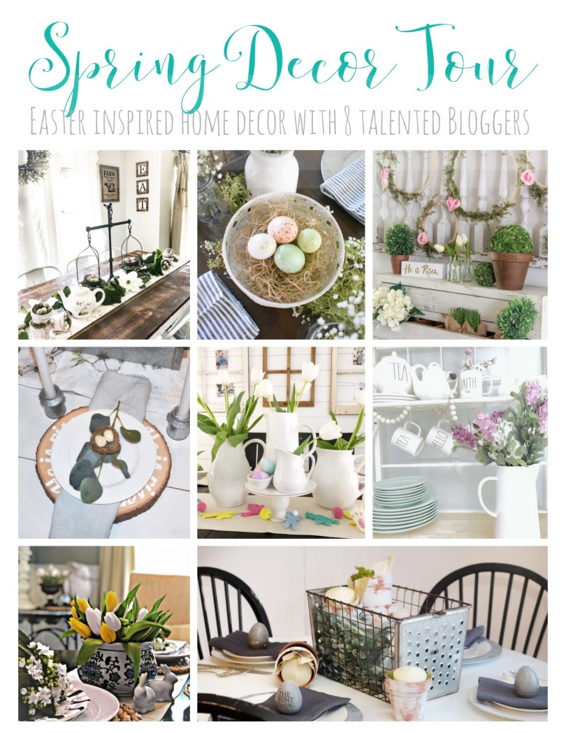 Spring Decor & Easter Tour