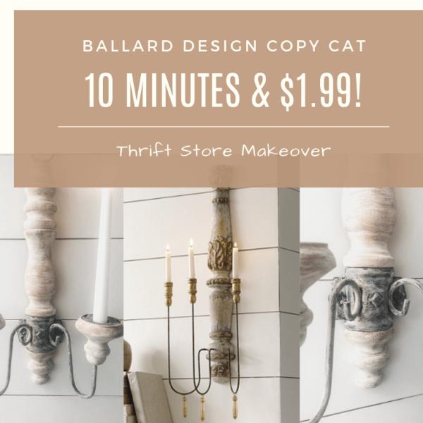 Ballard Design Copy Cat - 10 Minutes & $1.99