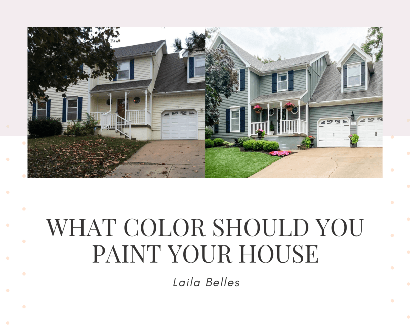 What Color Should you paint your house