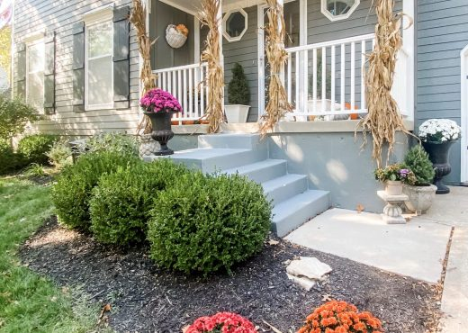 Fall Front Porch - 2020