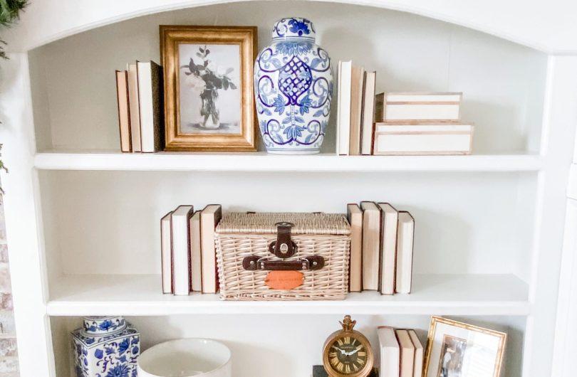 Bookshelf Refresh - Target Threshold/Studio McGee Line