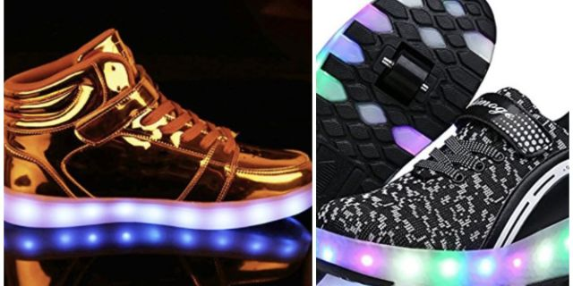 Light Up shoes for adults 2019 - 2020: Buyers' Guide best list