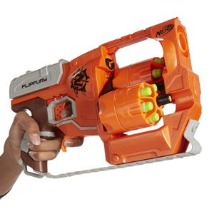 Gifts for 8 year old boys 2019 -2020 - Nerf Zombie Strike FlipFury Blaster