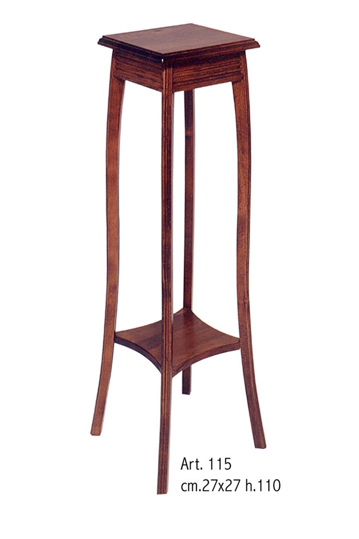 Tavolino a colonna