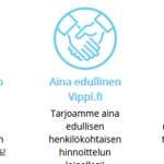 Vippi.fi – Lainaa heti 100-10.000 euroa