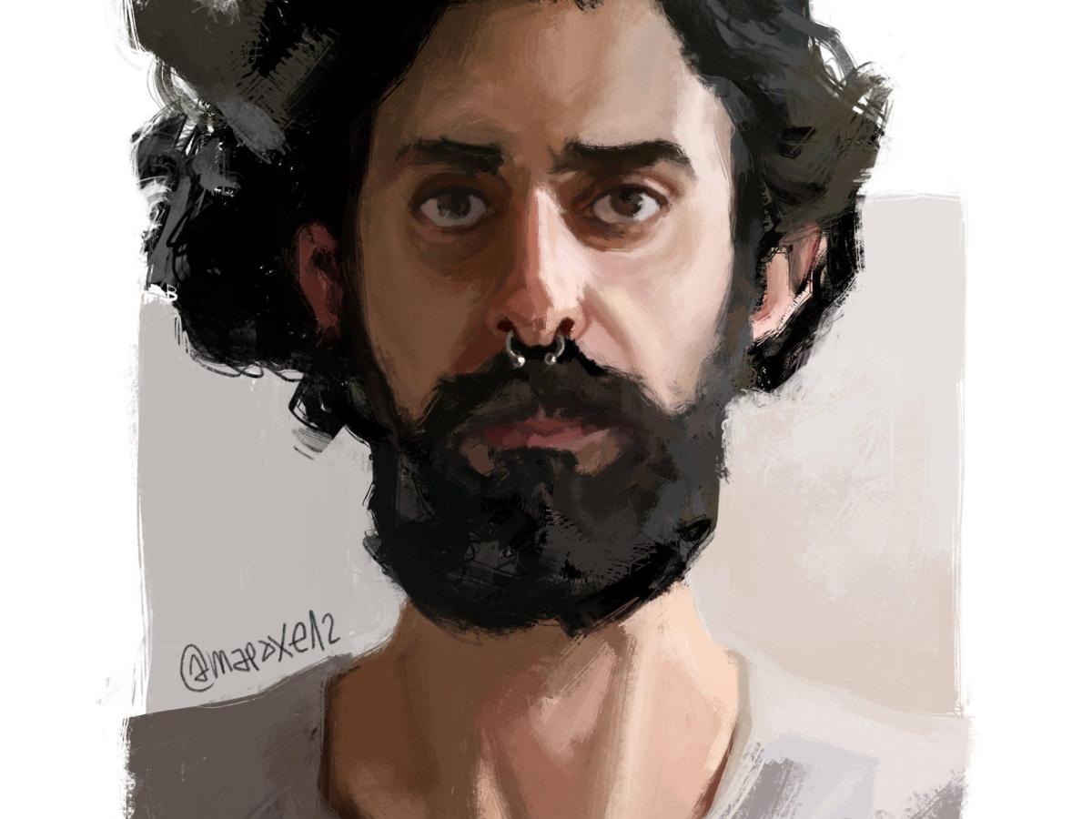 ilustración jacob perfil