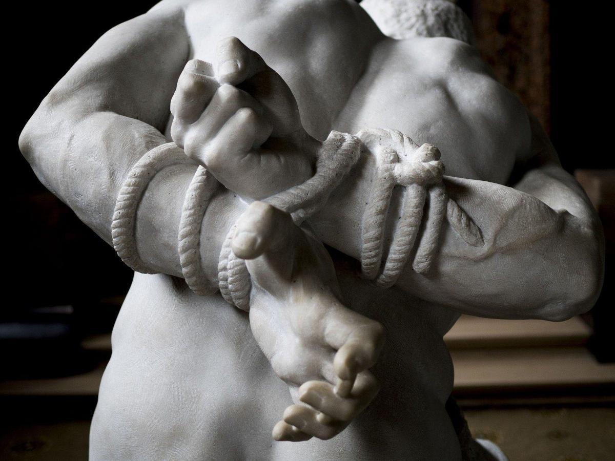 rapto estatua