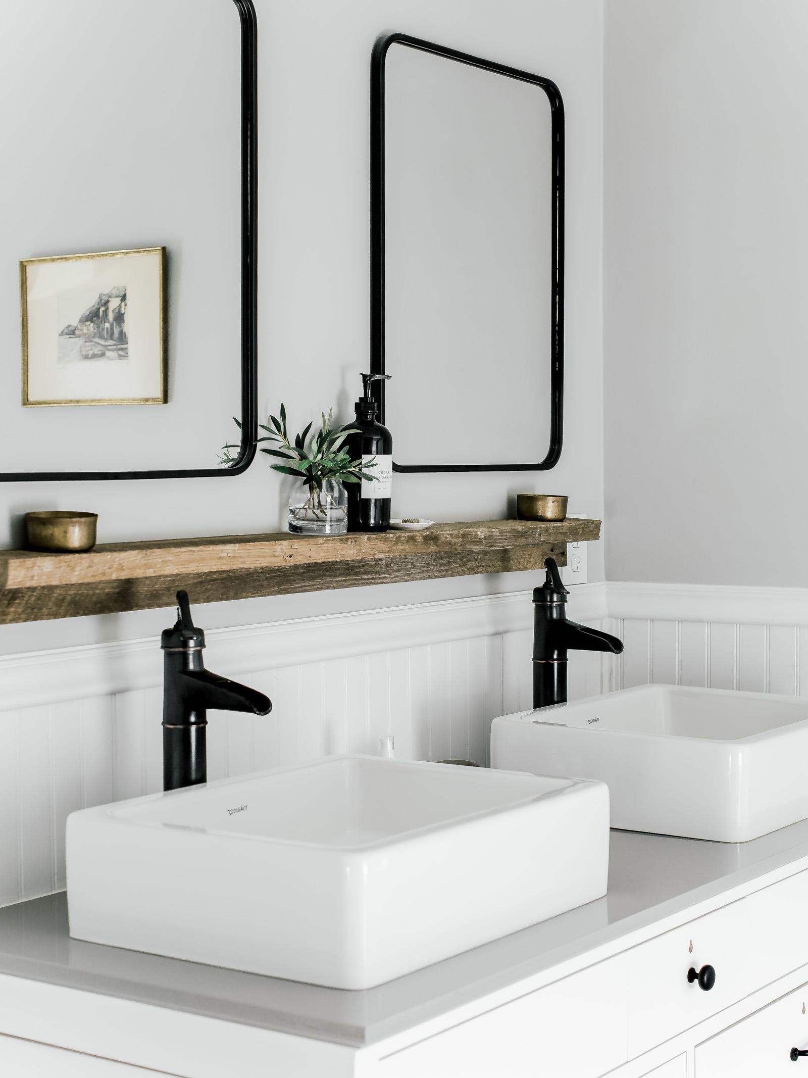 bathroom sink shelf image of bathroom