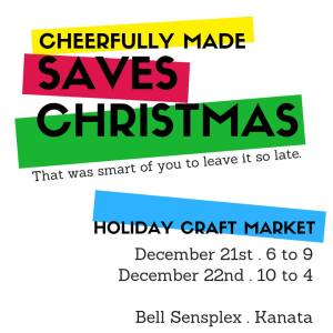 Cheerfully Made Saves Christmas