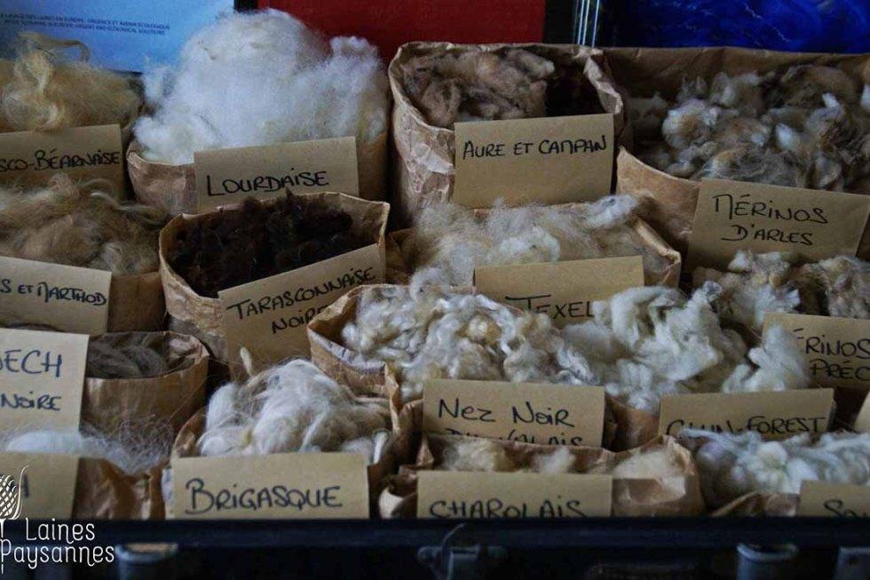 Laines Paysannes Formation sur les types de laine 2