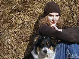 Laines Paysannes Boutique Chaussettes bonnet marron