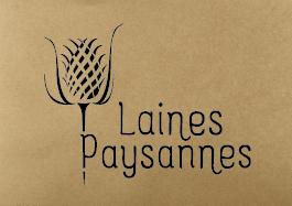 Logo Laines Paysannes fond kraft