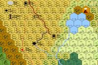 A hex crawl map