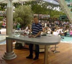 Lais Franzen, ZDF Fernsehgarten, Blogtail, TakeTwo, Cocktailshow