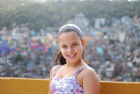 Mariana is ten years old. She enjoys jumping rope and wants to be a biologist when she grows up.