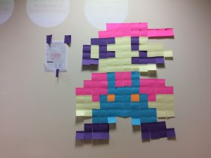 Resultado de Super Mario con Post-it