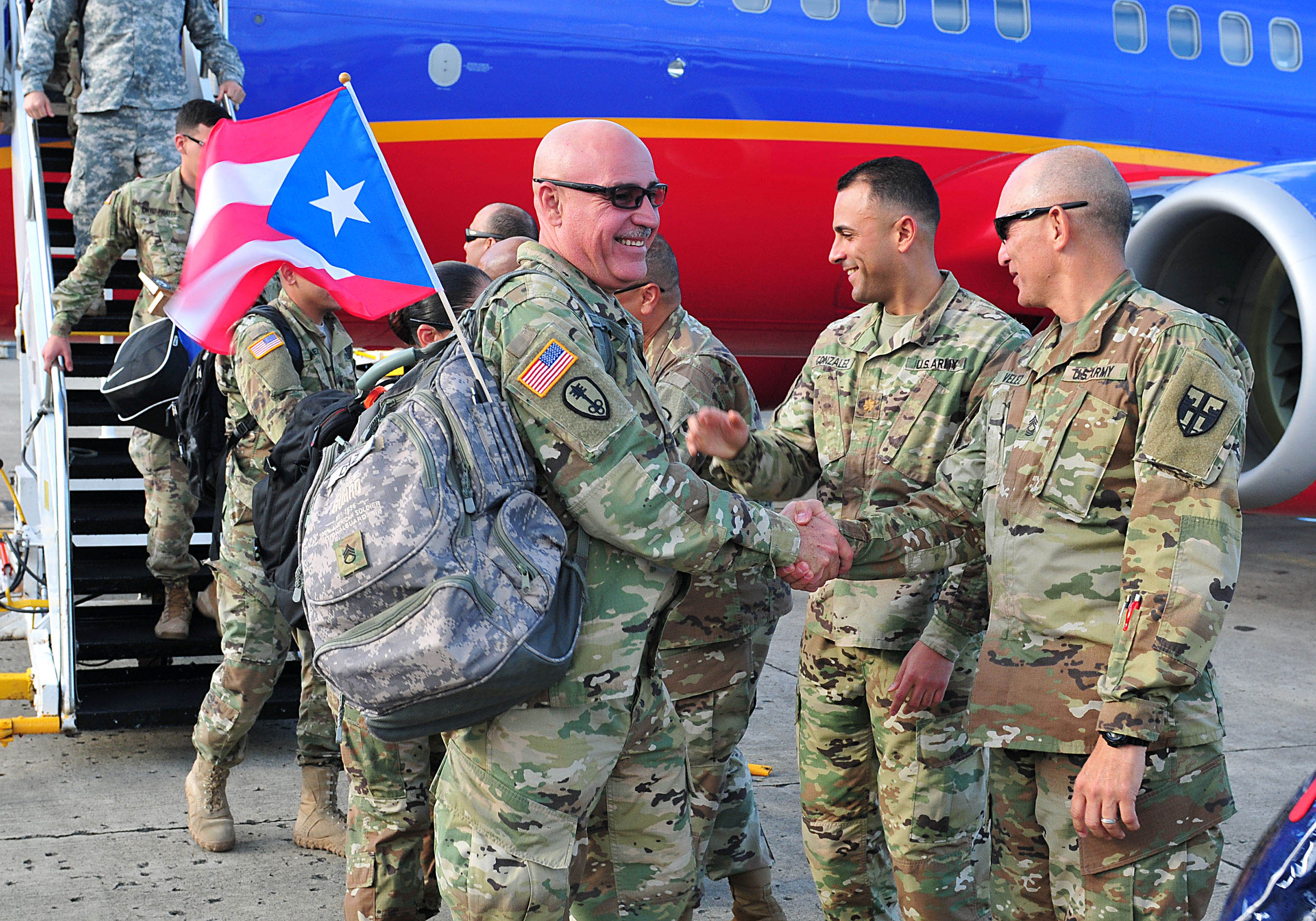 Soldados de la Guardia Nacional regresan de Honduras – La Isla Oeste