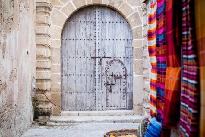 Essaouira Sqala du port - porte