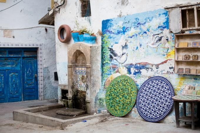 Essaouira - fresque
