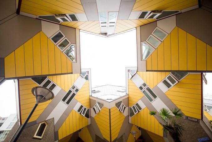 Rotterdam - cube houses