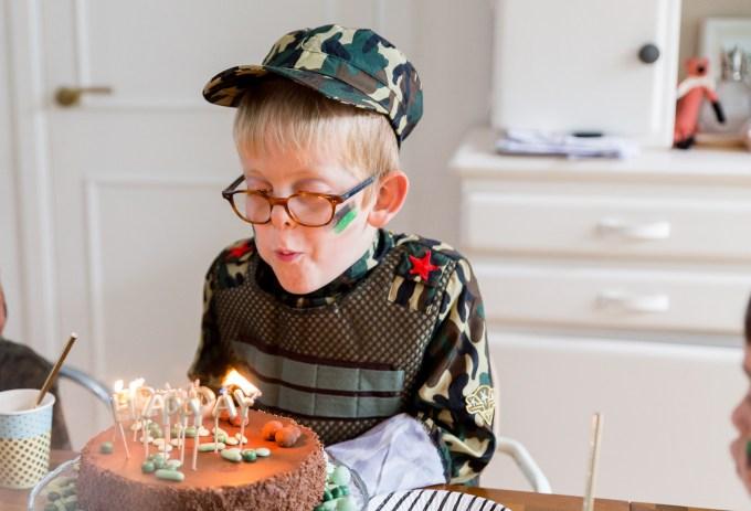 Camo birthday party