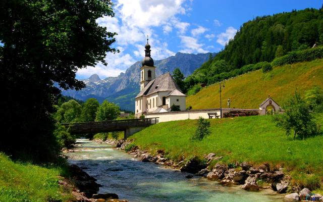 Bavarijos alpės