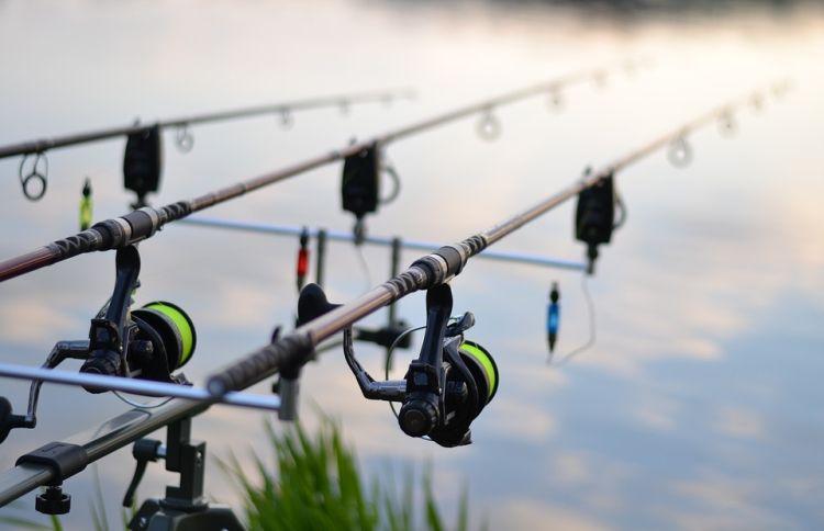 Žvejybos reikmenys karpiams gaudyti