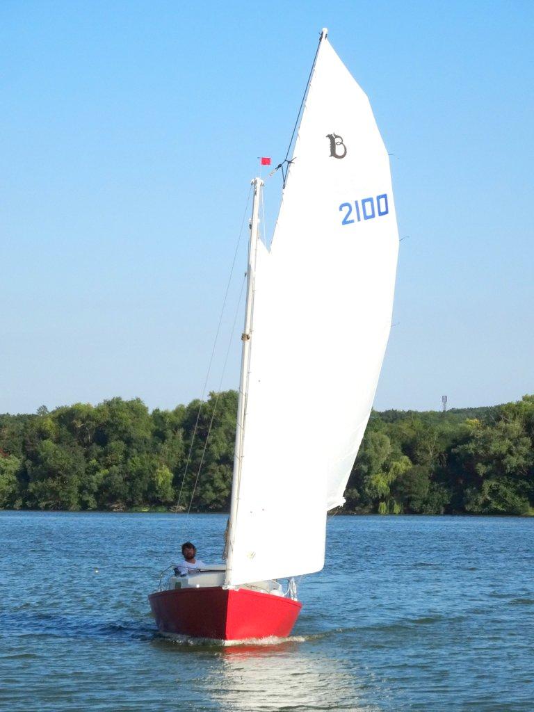 Bélouga alu en navigation
