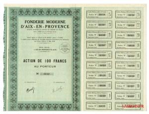 Fonderie Moderne d'Aix-en-Provence