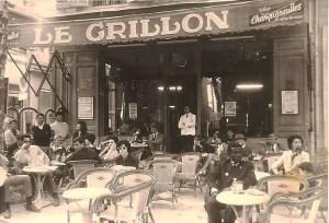 Le Grillon, et avant !
