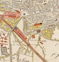 Où l'on voit le tracé du tram en ville.