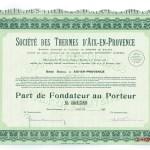 Société des Thermes d'Aix-en-Provence