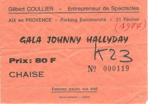 Johnny à Aix-en-Provence