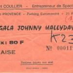 Johnny à Aix-en-Provence