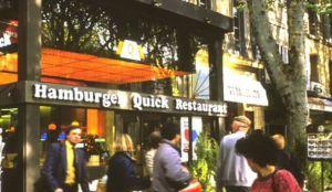 Avant Quick, la Brasserie Mirabeau