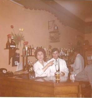 L'équipe de la fermeture : Serge, Gilbert, Mme Pastore et Christian