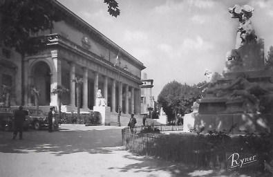 Le Palais de Justice d'Aix-en-Provence avant 1958e Justice d'Aix-en-Provence