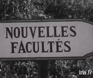 Les nouvelles Facultés à Aix-en-Provence et Marseille