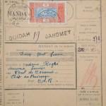 Un mandat postal