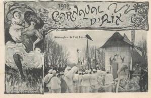 Le Carnaval d'Aix-en-Provence en 78 cartes postales