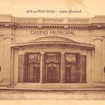 L'ancien casino d'Aix en carte postale
