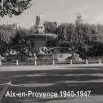 Blaise Cendrars et Aix-en-Provence en 1940