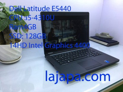 Dell Latitude E5440 |i5-4310U | Ram 4GB | SSD 128GB | 14″ HD
