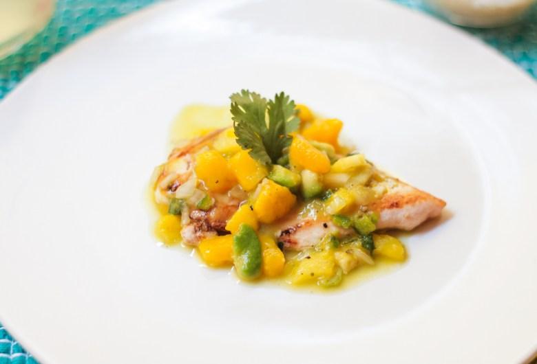 pollo con salsa de mango-5