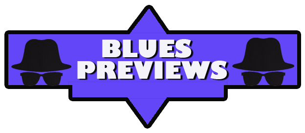 logo for blues previews